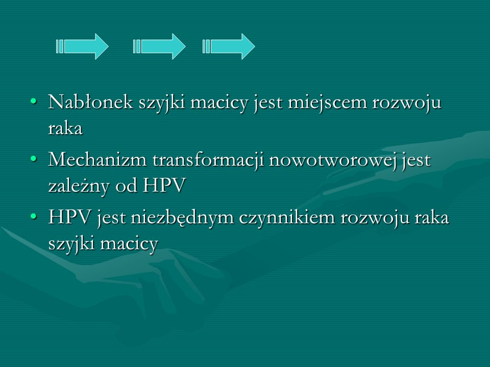 Nabłonek szyjki macicy jest miejscem rozwoju raka