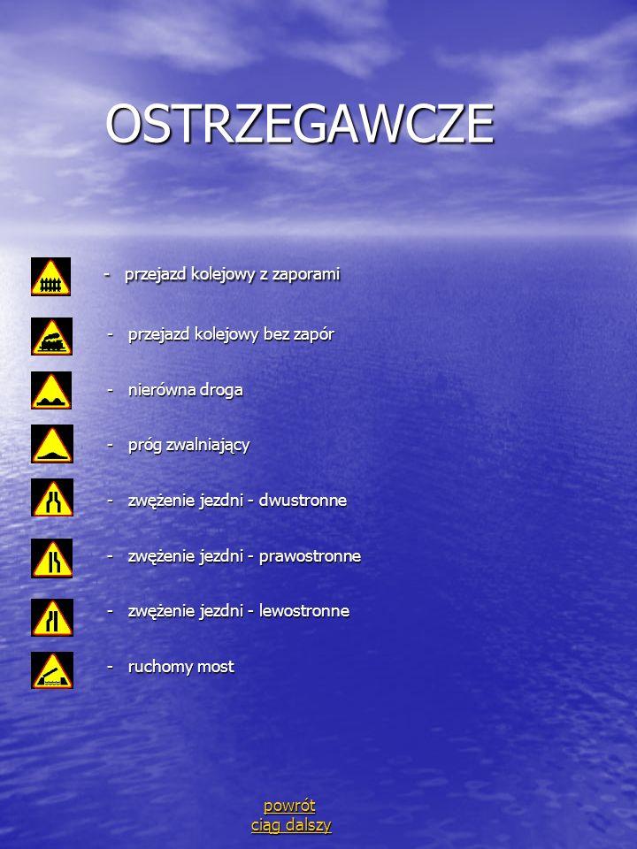 OSTRZEGAWCZE - przejazd kolejowy z zaporami