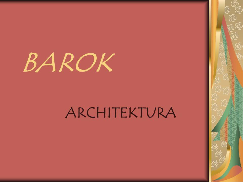 BAROK ARCHITEKTURA