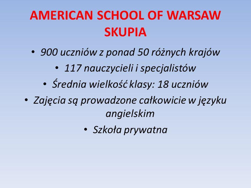 AMERICAN SCHOOL OF WARSAW SKUPIA