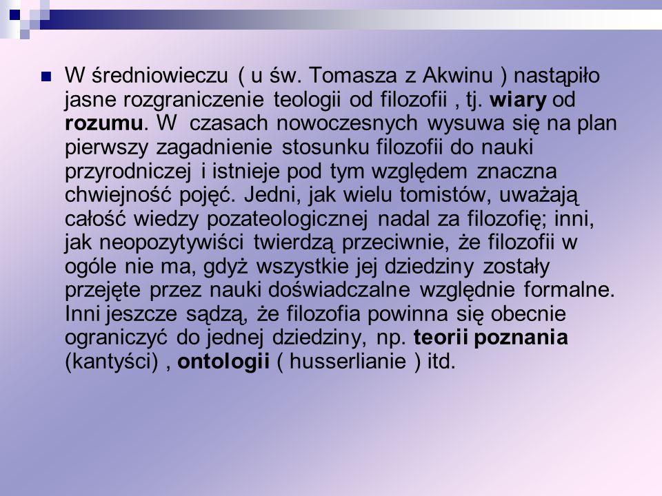 W średniowieczu ( u św.
