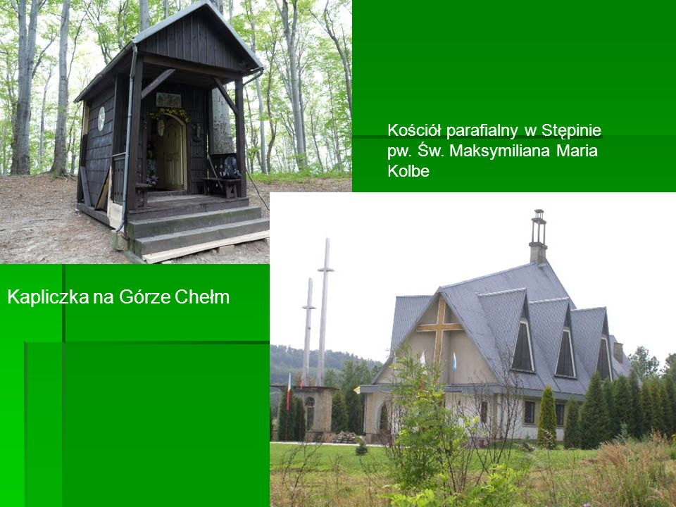 Kapliczka na Górze Chełm