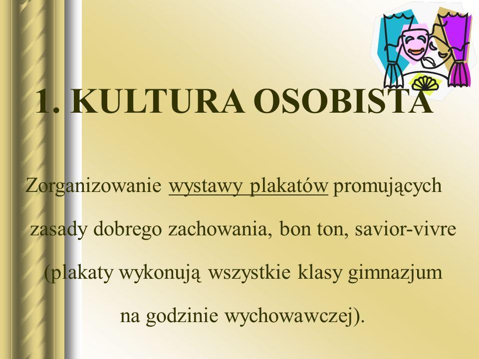 1. KULTURA OSOBISTA