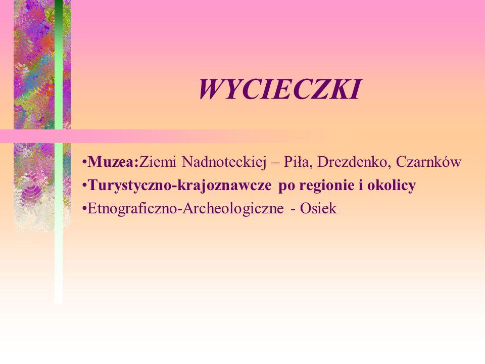 WYCIECZKI Muzea:Ziemi Nadnoteckiej – Piła, Drezdenko, Czarnków