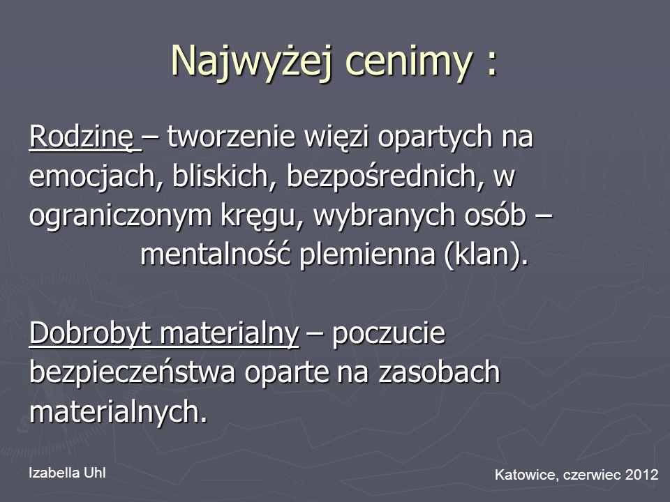 mentalność plemienna (klan).