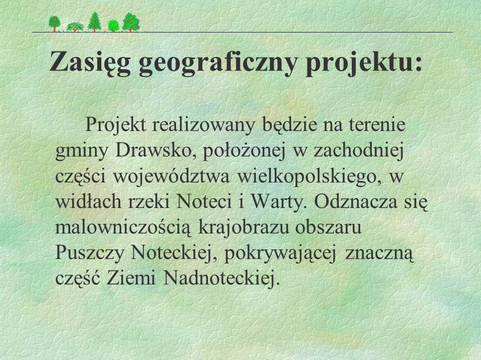 Zasięg geograficzny projektu: