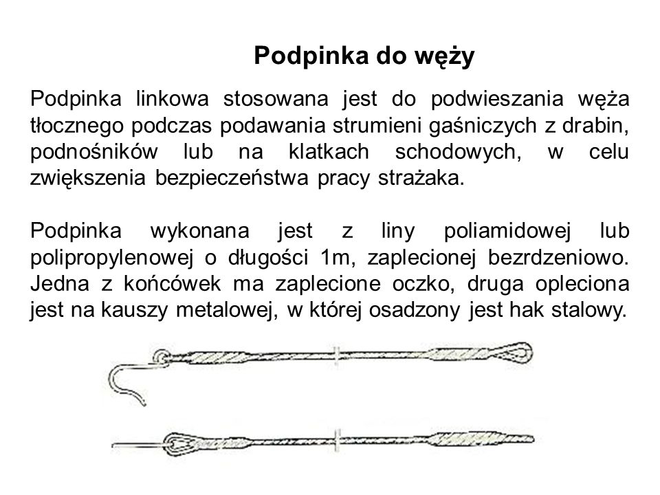 Podpinka do węży