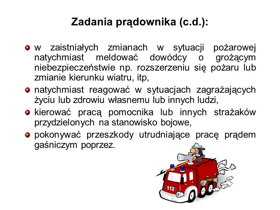 Zadania prądownika (c.d.):