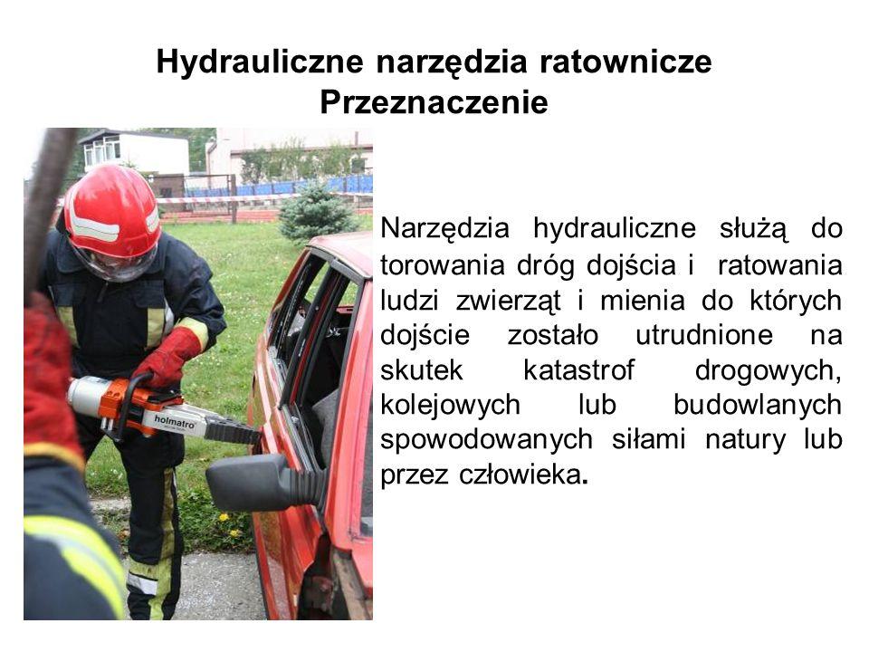 Hydrauliczne narzędzia ratownicze Przeznaczenie
