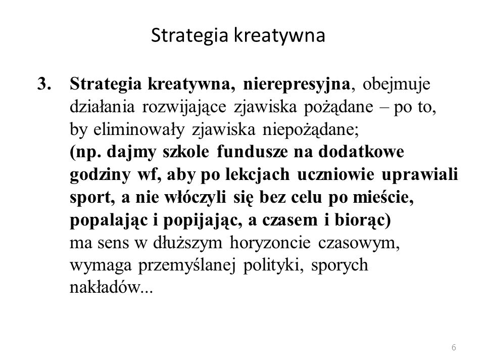 Strategia kreatywna