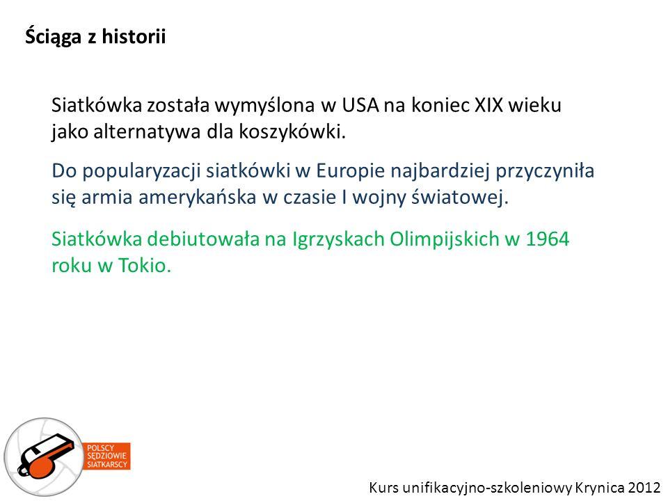 Siatkówka debiutowała na Igrzyskach Olimpijskich w 1964 roku w Tokio.