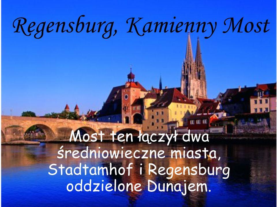 Regensburg, Kamienny Most