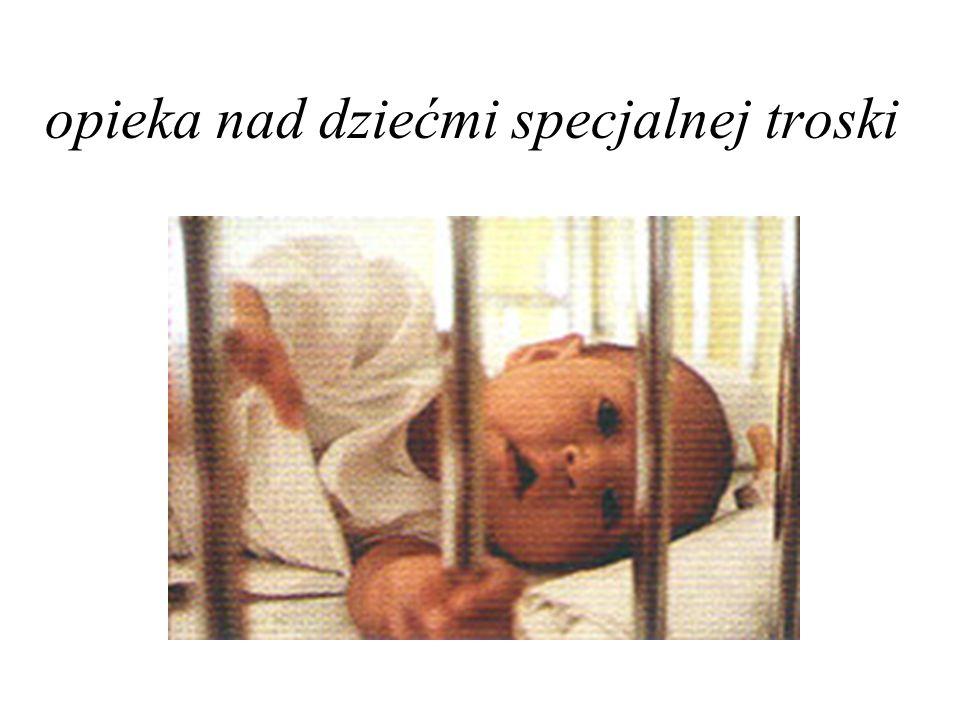 opieka nad dziećmi specjalnej troski