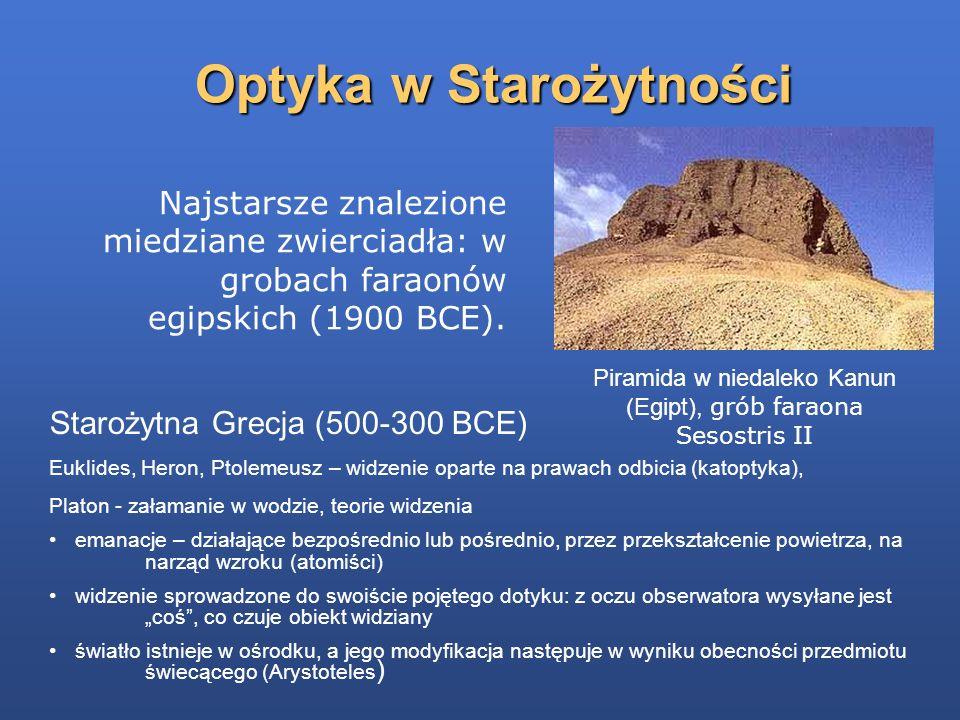 Optyka w Starożytności