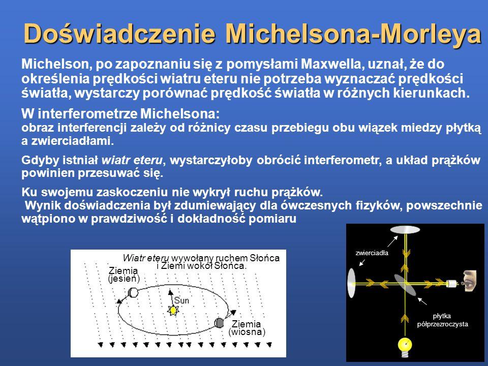 Doświadczenie Michelsona-Morleya