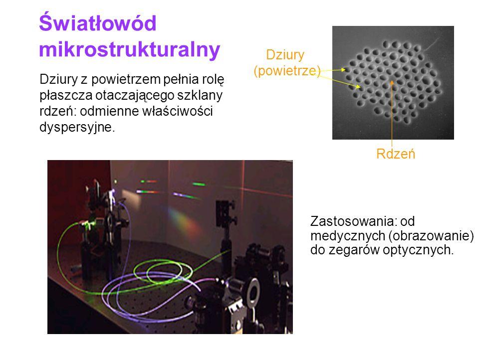 Światłowód mikrostrukturalny