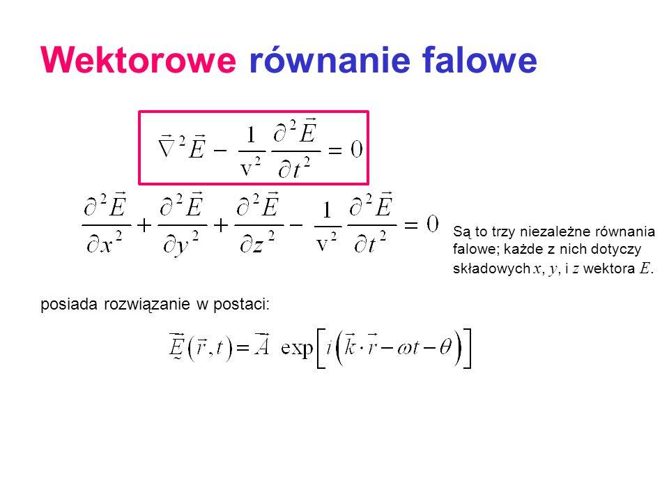 Wektorowe równanie falowe