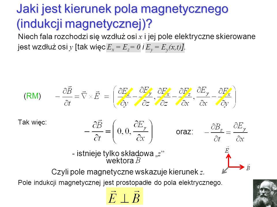 Jaki jest kierunek pola magnetycznego (indukcji magnetycznej)