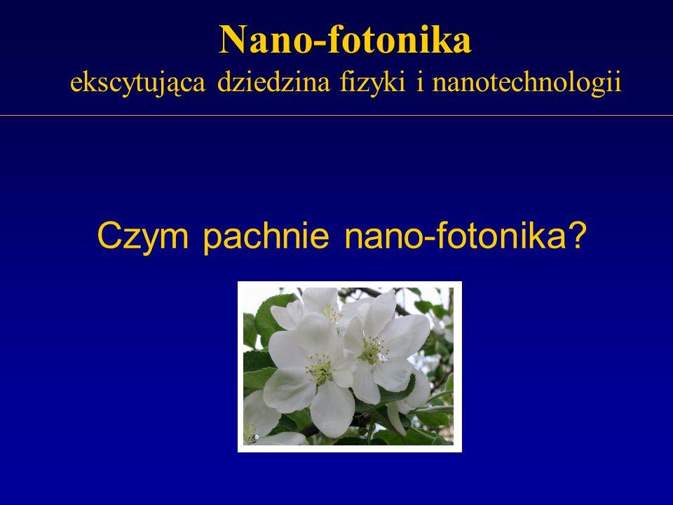 Nano-fotonika ekscytująca dziedzina fizyki i nanotechnologii