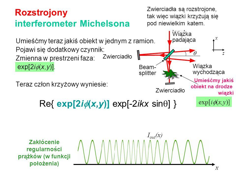 Rozstrojony interferometer Michelsona