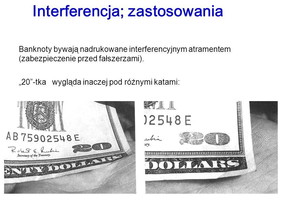 Interferencja; zastosowania