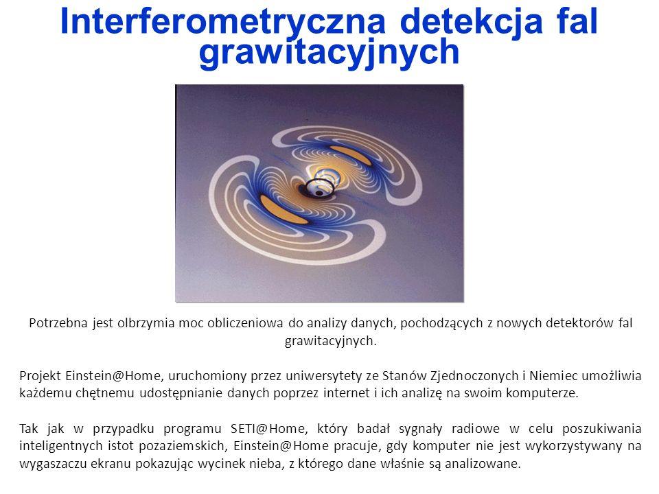 Interferometryczna detekcja fal grawitacyjnych