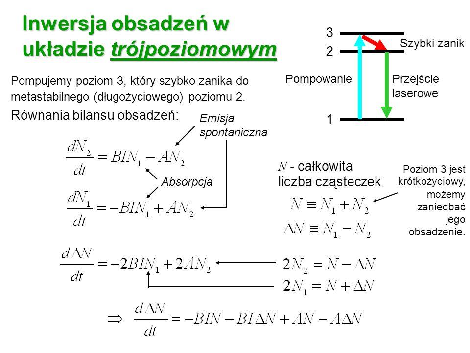 Inwersja obsadzeń w układzie trójpoziomowym