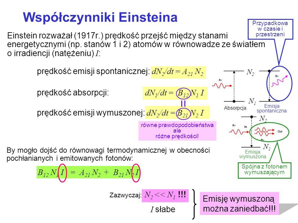 Współczynniki Einsteina