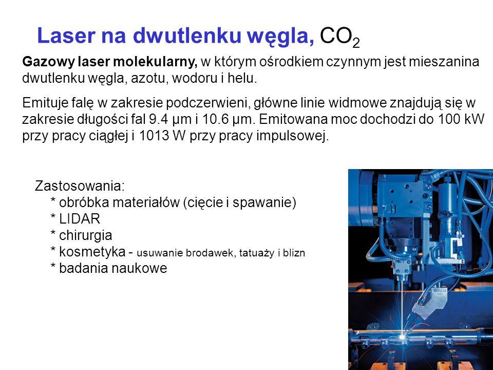 Laser na dwutlenku węgla, CO2
