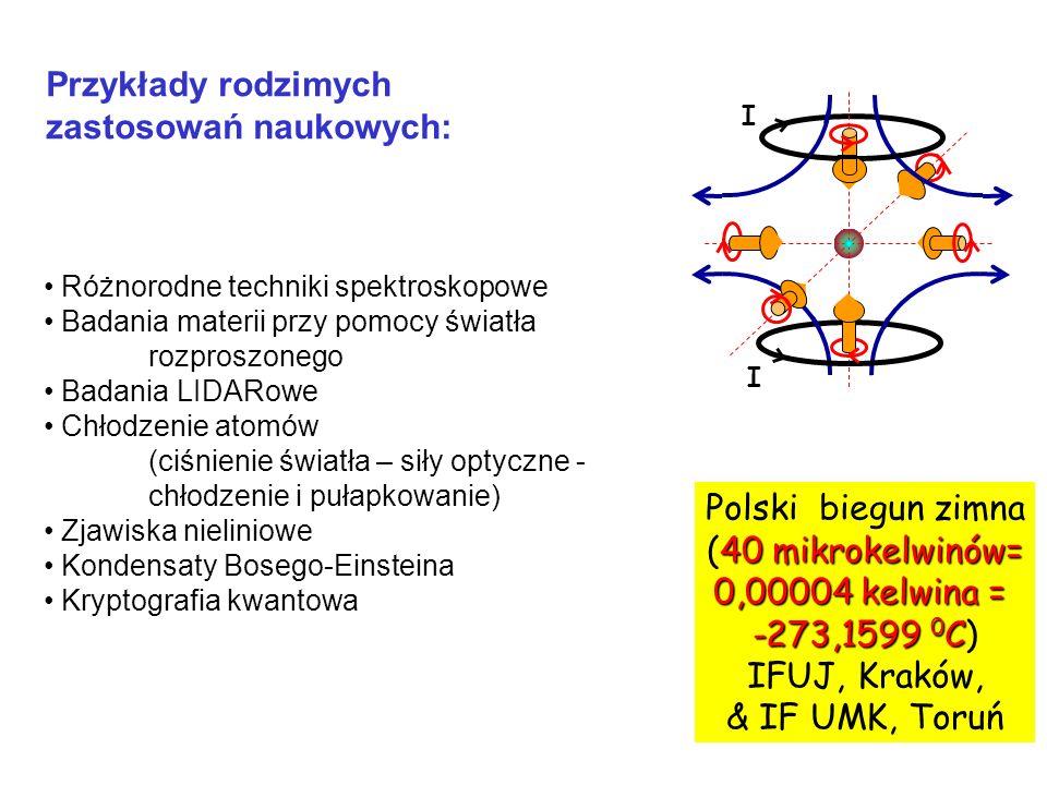zastosowań naukowych: