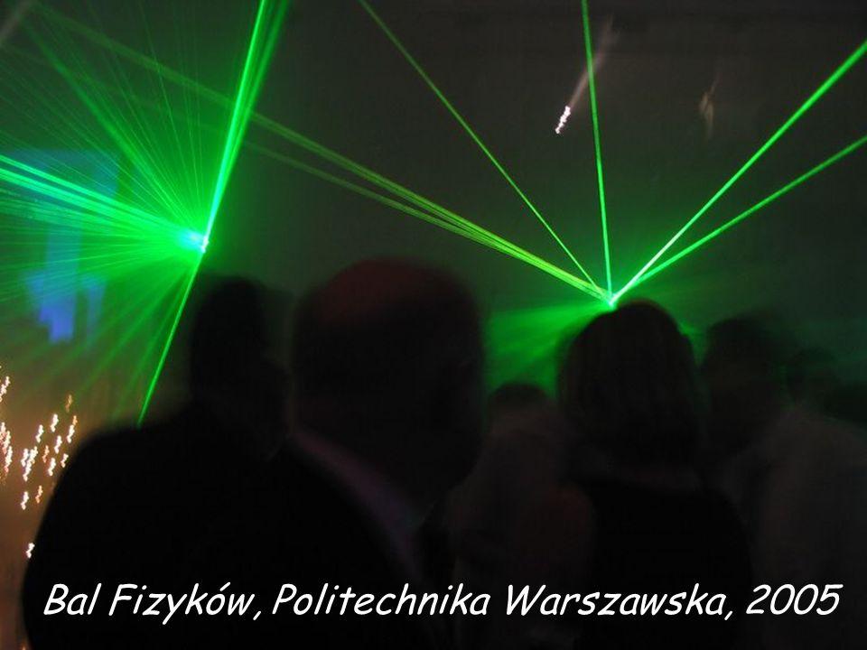 Bal Fizyków, Politechnika Warszawska, 2005