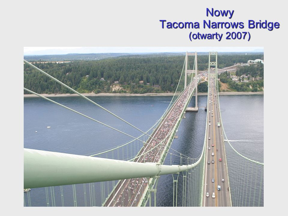 Nowy Tacoma Narrows Bridge (otwarty 2007)
