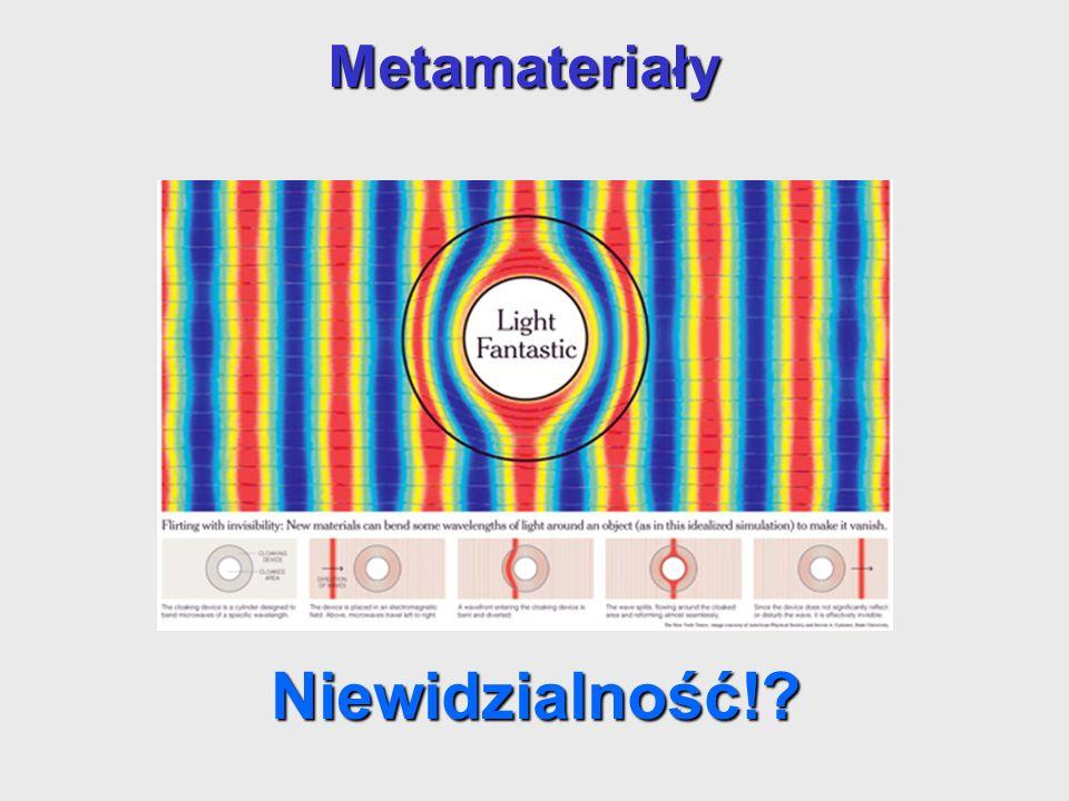 Niewidzialność! Metamateriały