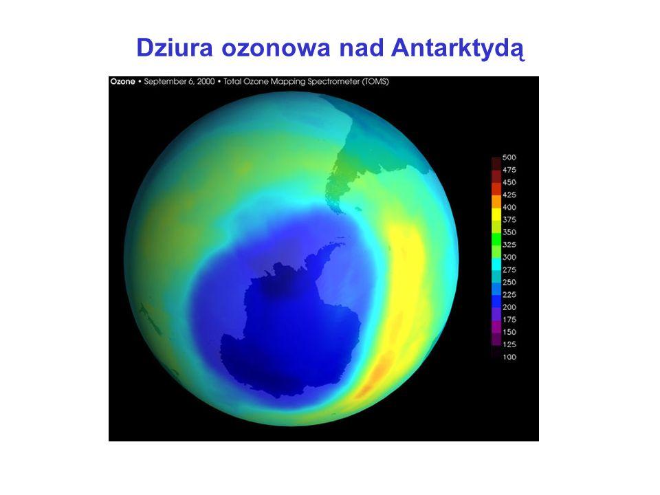 Dziura ozonowa nad Antarktydą