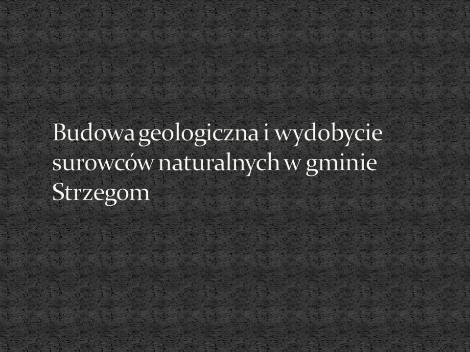 Budowa geologiczna i wydobycie surowców naturalnych w gminie Strzegom
