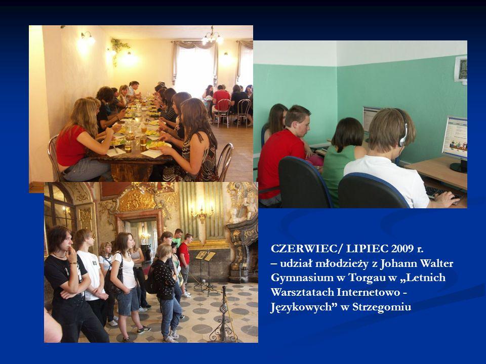 CZERWIEC/ LIPIEC 2009 r.