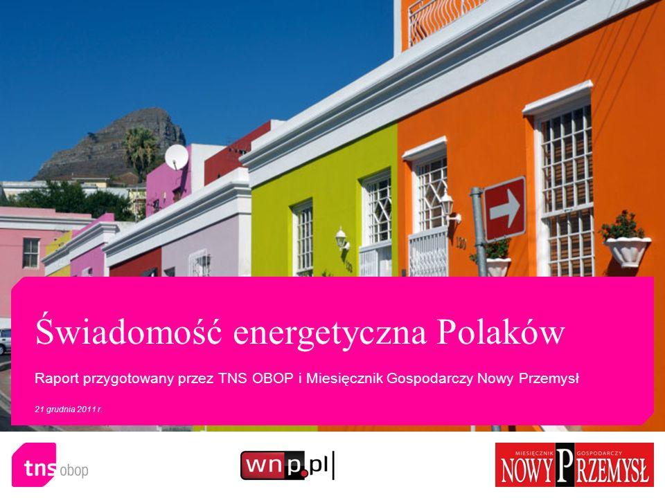 Świadomość energetyczna Polaków