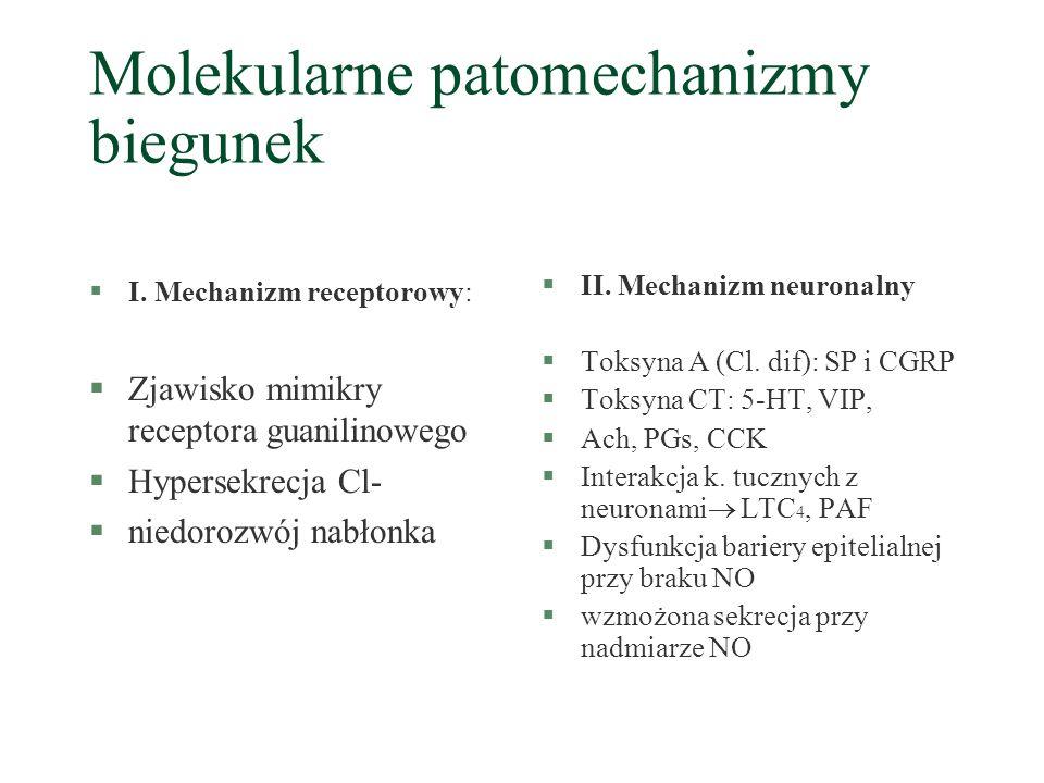 Molekularne patomechanizmy biegunek