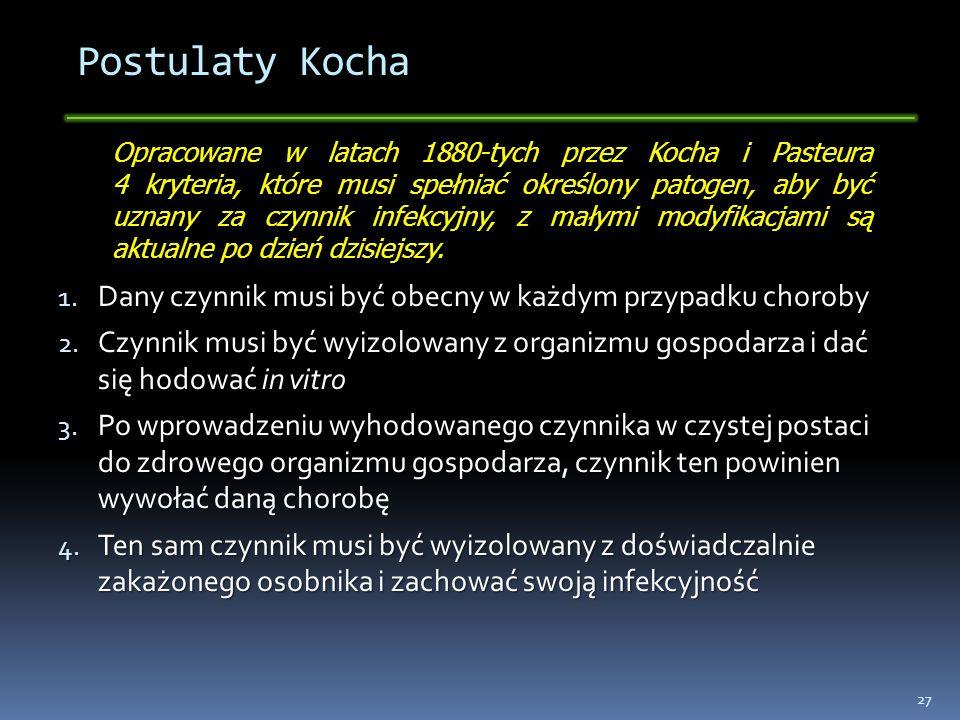 Postulaty Kocha