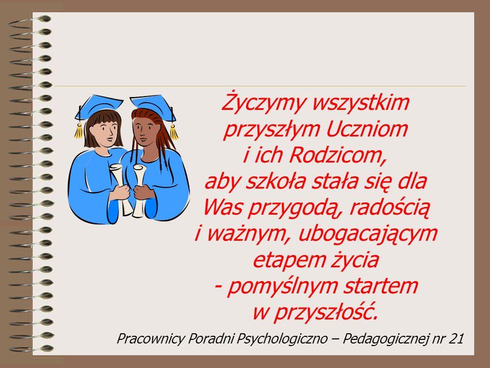 Pracownicy Poradni Psychologiczno – Pedagogicznej nr 21