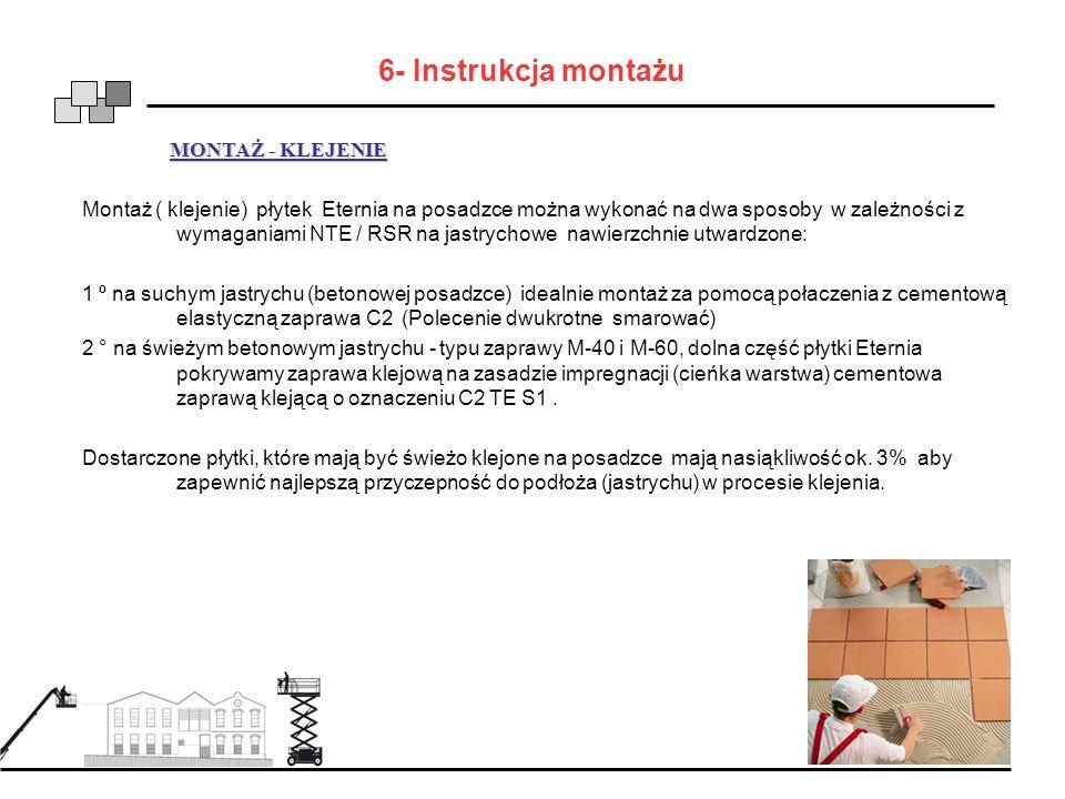 6- Instrukcja montażu MONTAŻ - KLEJENIE