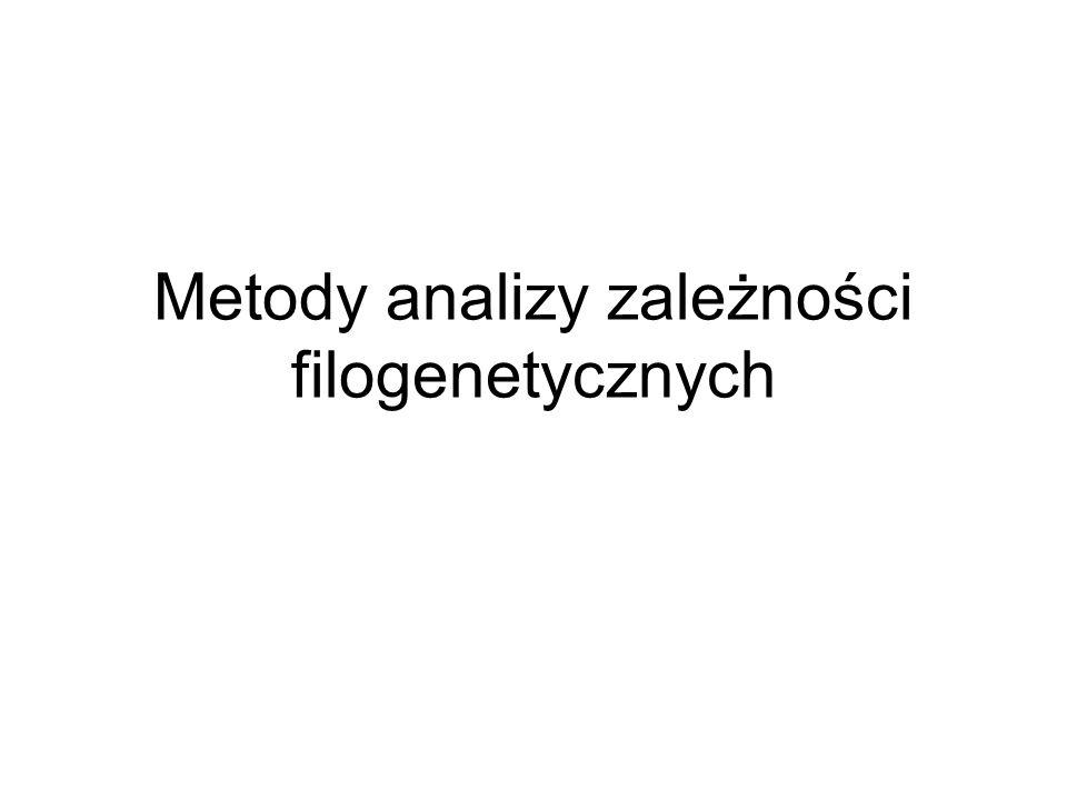 Metody analizy zależności filogenetycznych