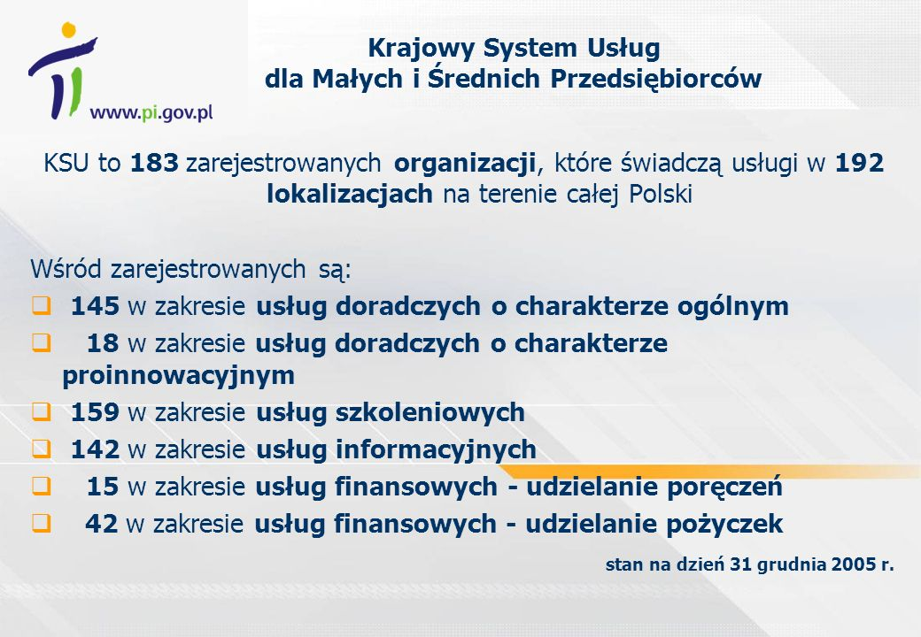 Krajowy System Usług dla Małych i Średnich Przedsiębiorców