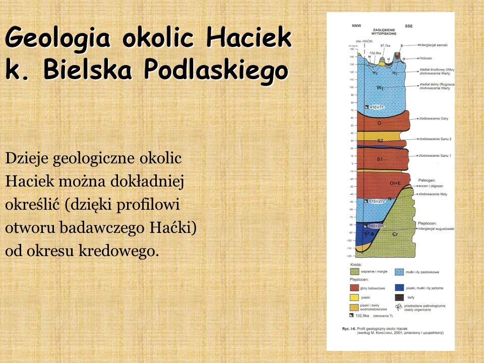 Geologia okolic Haciek k. Bielska Podlaskiego