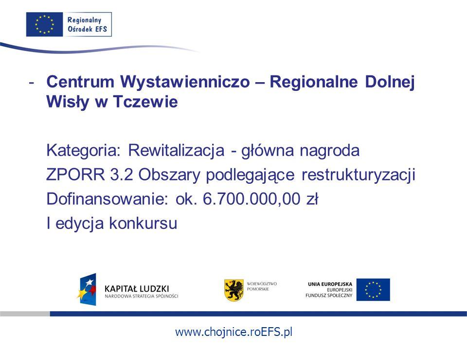 Centrum Wystawienniczo – Regionalne Dolnej Wisły w Tczewie