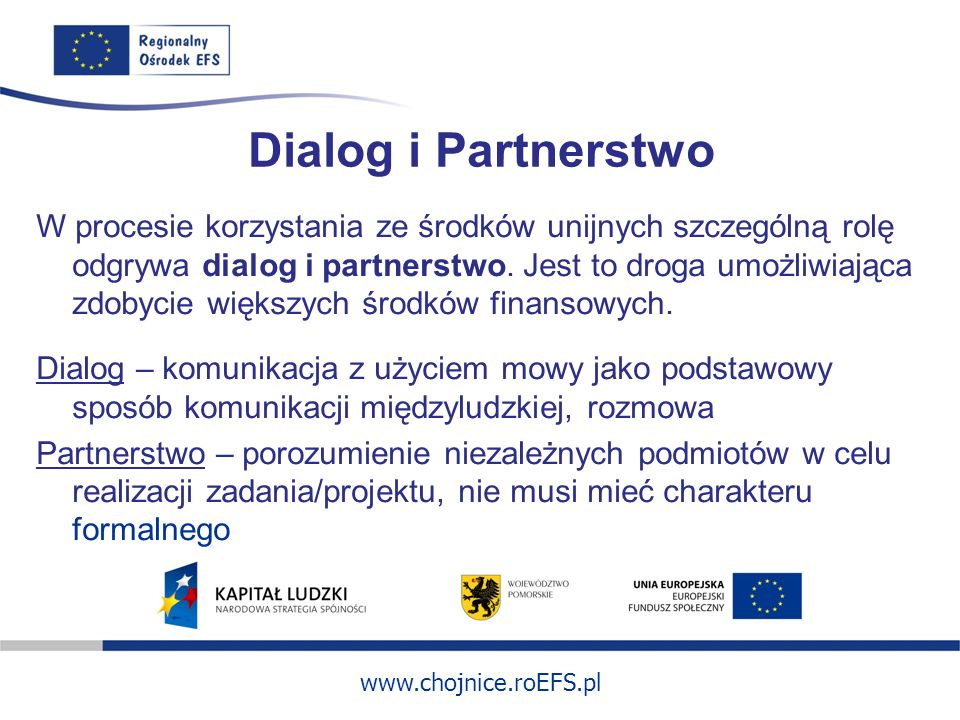Dialog i Partnerstwo
