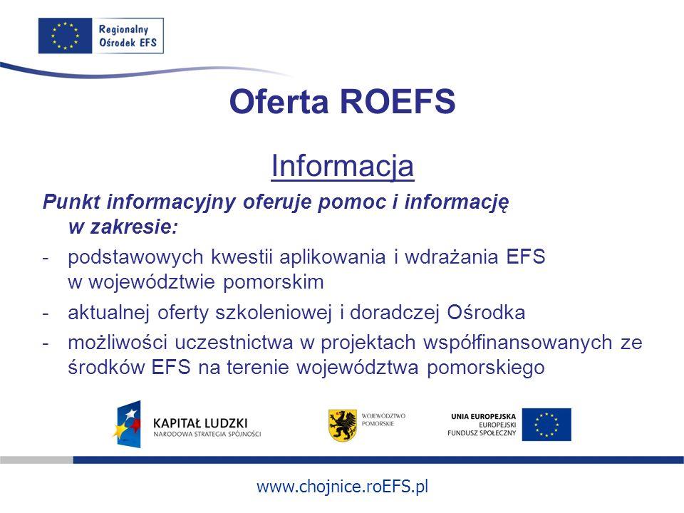 Oferta ROEFS Informacja