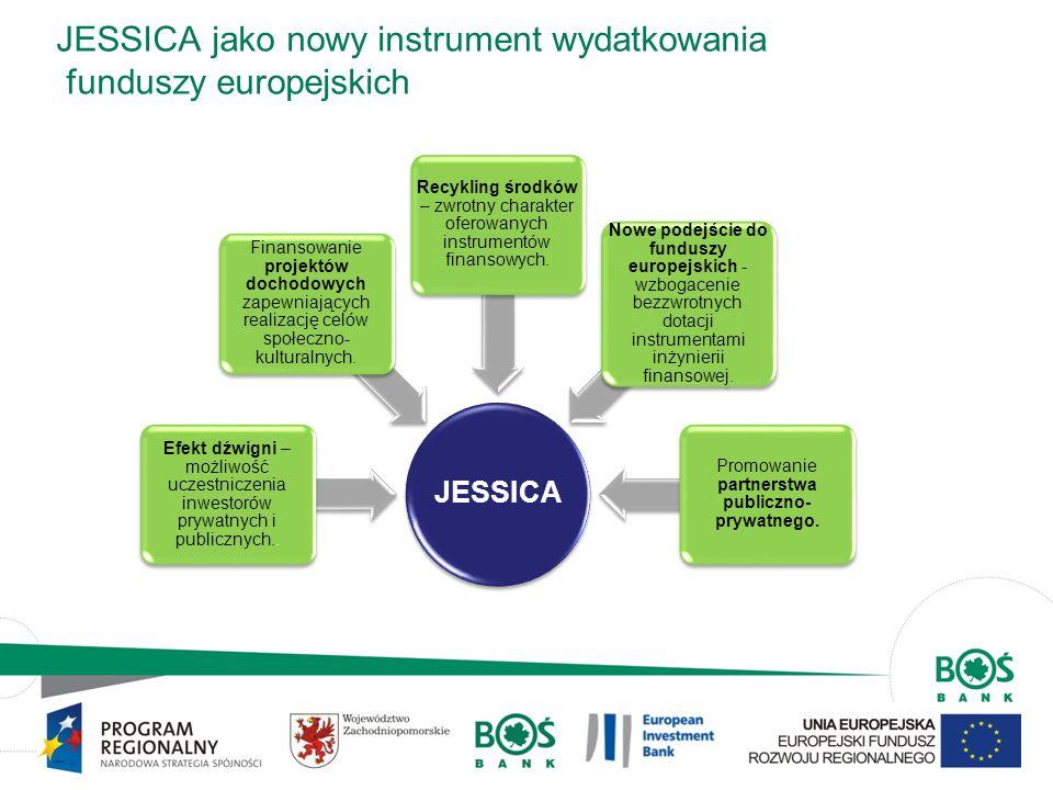JESSICA jako nowy instrument wydatkowania funduszy europejskich