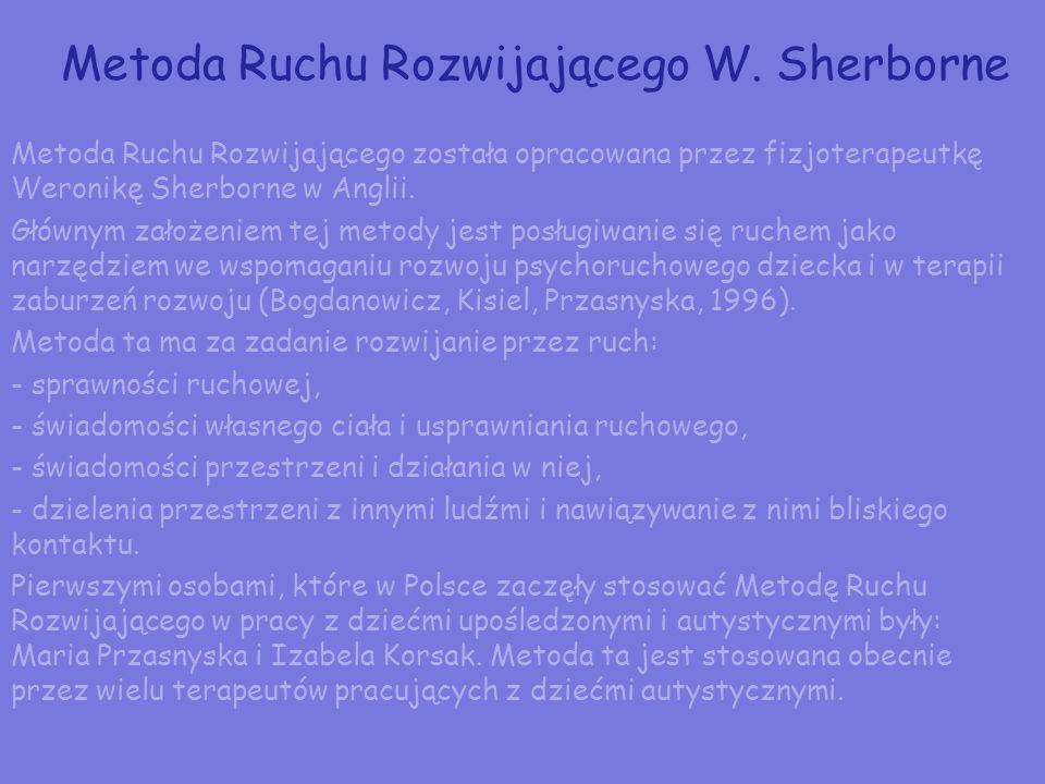 Metoda Ruchu Rozwijającego W. Sherborne