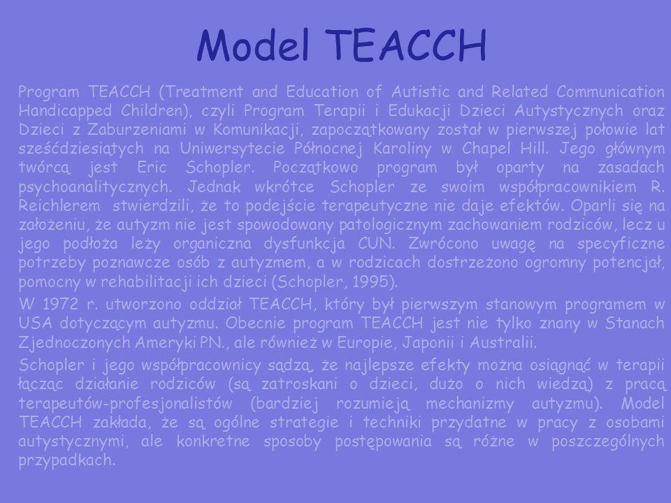 Model TEACCH